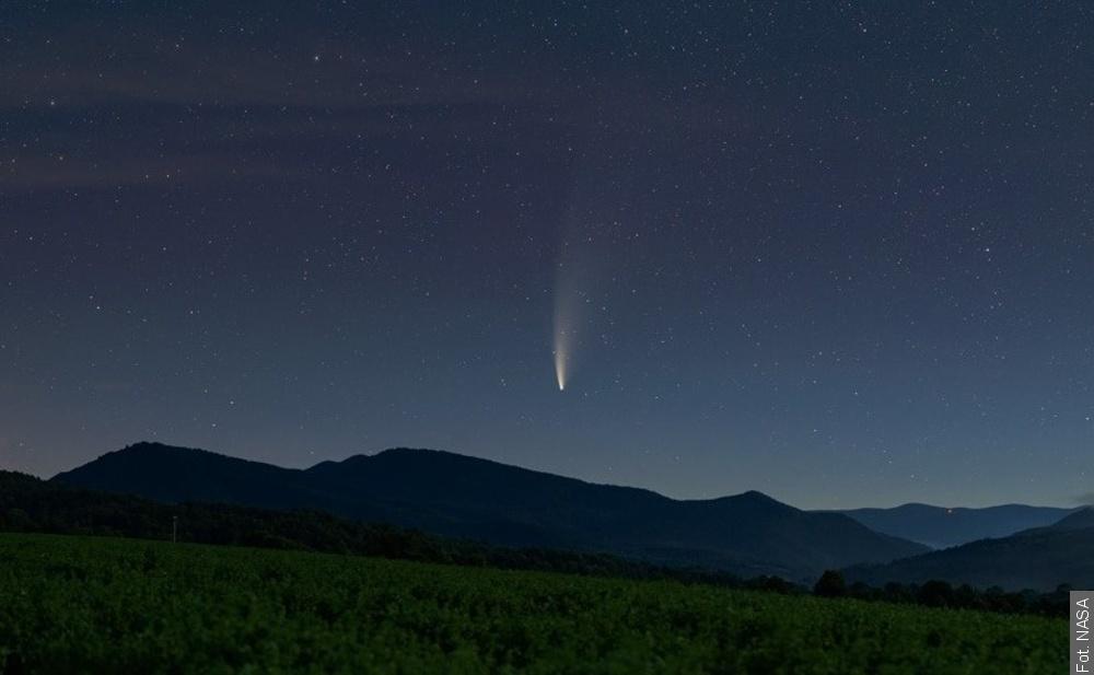 Kometę NEOWISE najlepiej obserwować teraz