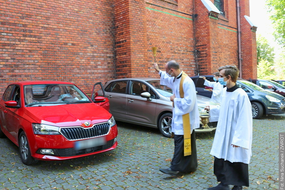 W Stonawie święcili pojazdy