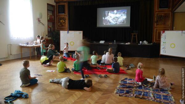 Czwarty rok z rzędu Miejscowe Koło PZKO w Lesznej Dolnej organizuje półkolonię dla dzieci