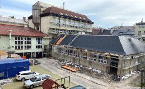 Remont budynku Gimnazjum z obsuwą? Powodem stan budynku i koronawirus