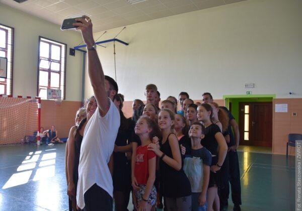 Tancerze Elanu spędzili w Milikowie bardzo aktywny tydzień