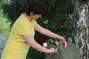 Konsul odwiedziła żywocickie miejsca tragedii. Jutro do rowerowej wyprawy szlakiem żywocickich steli dołączyć może każdy chętny