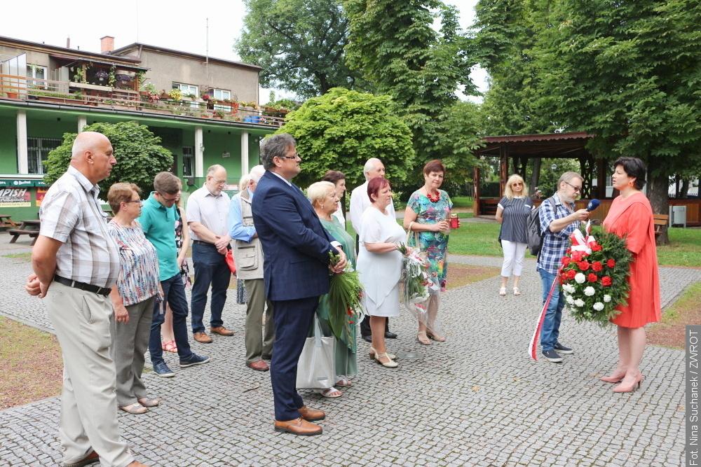 Stulecie Bitwy Warszawskiej uczczono w Parku Adama Sikory