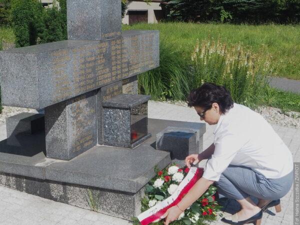 W Mostach koło Jabłonkowa uczcili pamięć ofiar drugiej wojny światowej