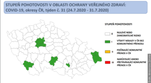 """Województwo morawsko-śląskie zielone. Ministerstwo pokazało """"semafor"""""""