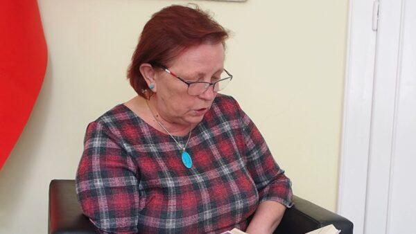 Wiersz Anieli Kupiec czyta Helena Legowicz
