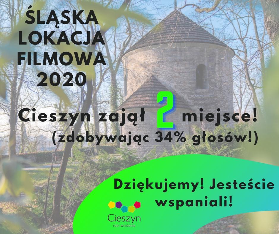 Są już wyniki plebiscytu Śląska Lokacja Filmowa, w którym udział brał Cieszyn