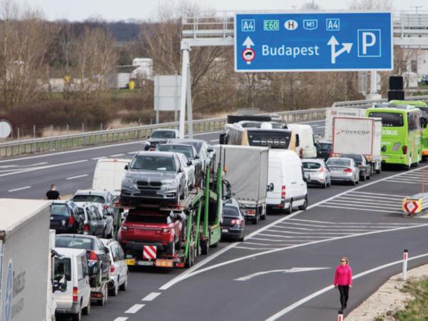 Węgry zamykają granicę przed cudzoziemcami