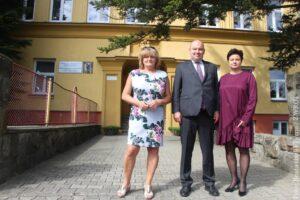 Minister pod wrażeniem po wizycie w szkole w Cierlicku