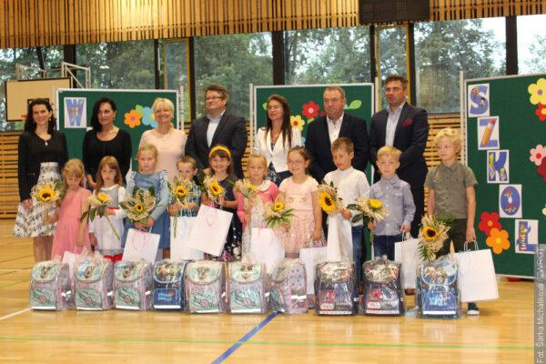 Rozpoczęcie roku szkolnego w Trzyńcu