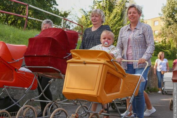 Widzieliście paradę wózków dziecięcych w Czeskim Cieszynie?