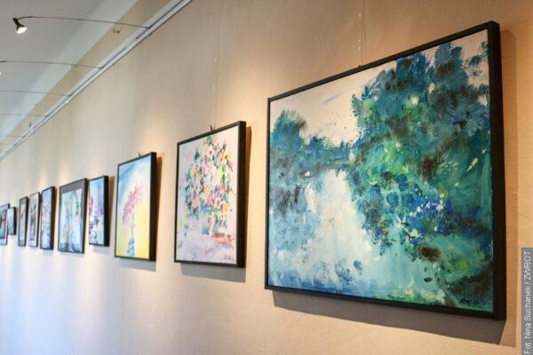 W Czeskim Cieszynie można podziwiać dwie wystawy obrazów Józefa Dronga