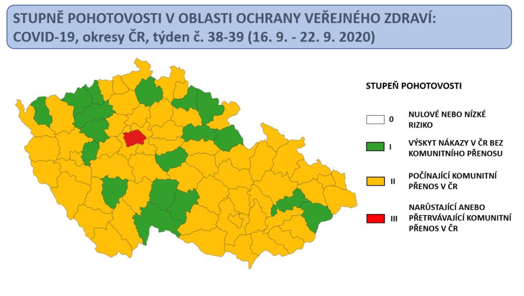 Ministerstwo zdrowia opublikowało mapę zakażeń. Nasz region z zielonego zmienił się w pomarańczowy