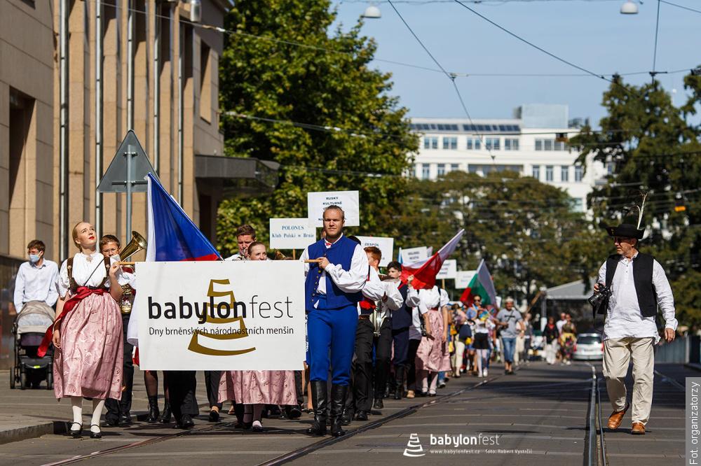 """W Brnie odbył się festiwal mniejszości narodowych """"Babylonfest"""". Wystąpił zespół Oldrzychowice"""