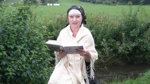Wiersz Anieli Kupiec czyta Irena Jurgová