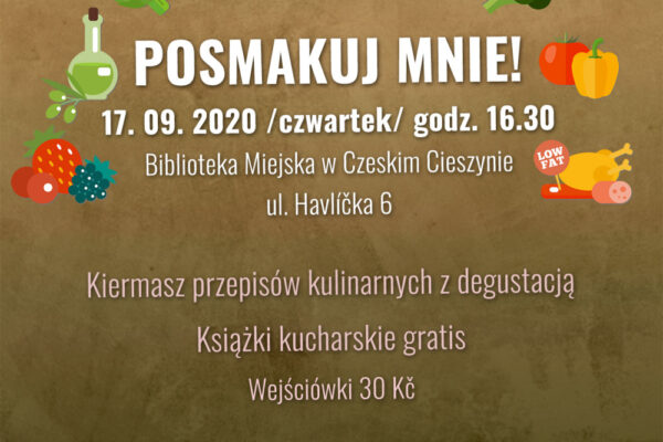 Smakowita impreza w czeskocieszyńskiej Bibliotece Miejskiej