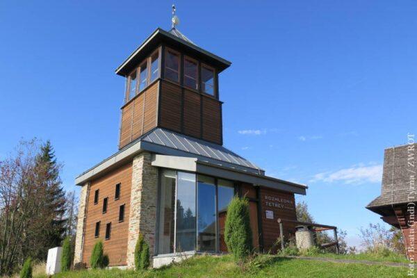 Spacery ze Zwrotem: wieża widokowa Cietrzew (Tetřev)
