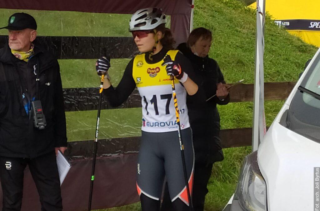 Jola Byrtus z Nydku mistrzynią Czech w biegach na nartorolkach