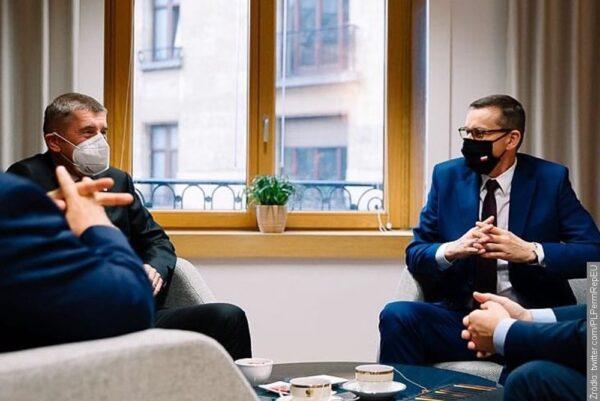 Andrej Babiš reprezentuje Polskę na posiedzeniu Rady Europejskiej