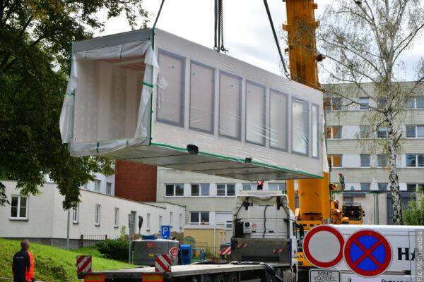 W Karwinie powstaje szpital z kontenerów