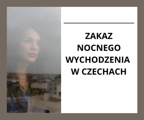 W Czechach zakaz nocnego wychodzenia, obowiązkowy home office, sklepy zamknięte w niedzielę