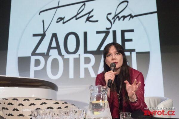 Izabela Wałaska w księgarni Kornel i Przyjaciele