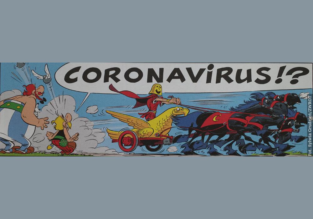 Asteriks kontra Coronavirus