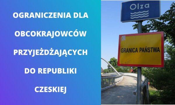Wjazd na terytorium Czech jest ograniczony