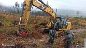 Ekolodzy próbują zatrzymać wodę w górach