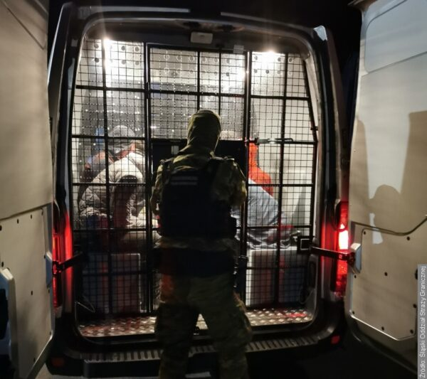 Po obu stronach granicy zatrzymano nielegalnych imigrantów