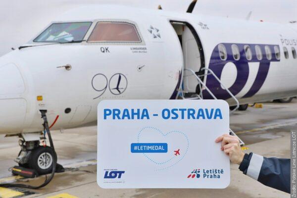 Wczoraj ruszyły pierwsze połączenia lotnicze między Pragą a Ostrawą