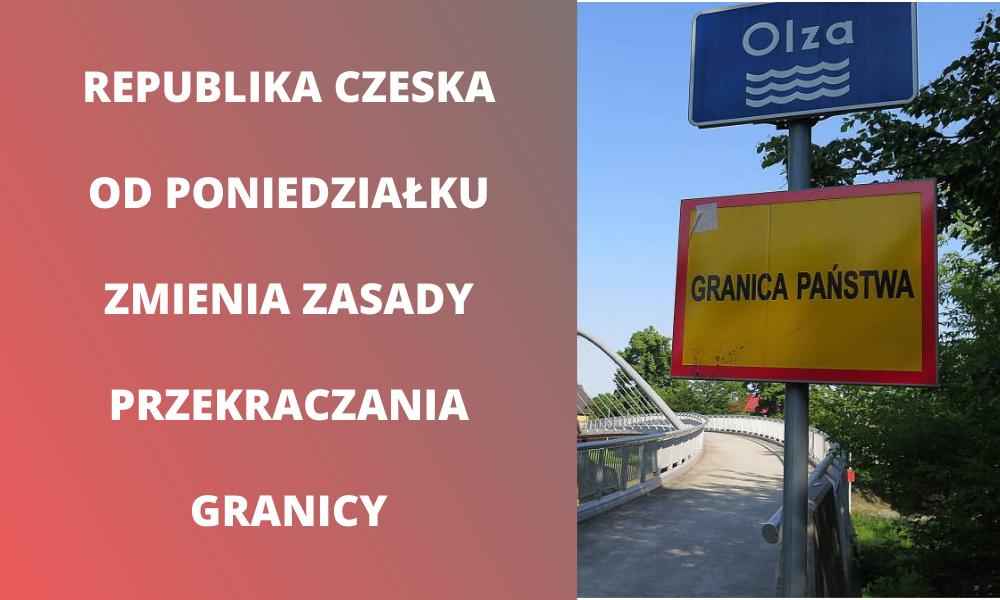 """Republika Czeska planuje od poniedziałku nowy """"semafor"""". Znowu zamkną granice?"""