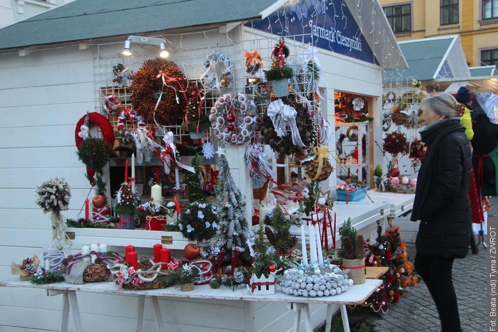 Na cieszyńskim rynku będzie można zaopatrzyć się w świąteczne rękodzieło
