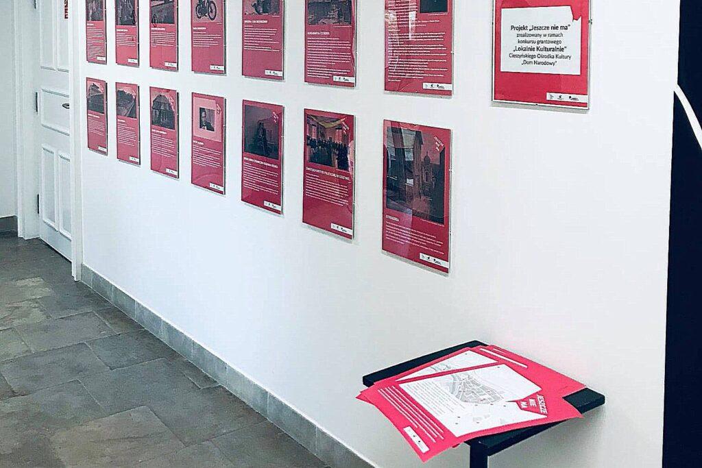 """Wystawa """"Jeszcze nie ma"""" na stałe zostanie w Domu Narodowym"""