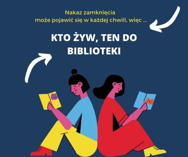 Szybko do biblioteki!