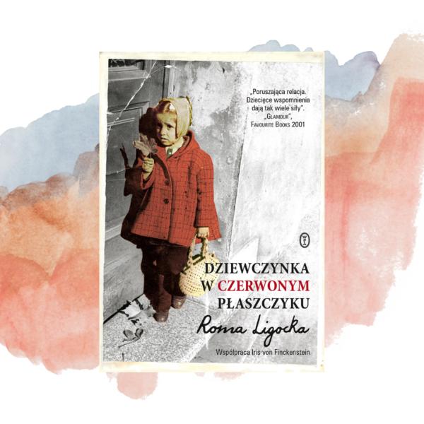 LEKTURA NA JESIEŃ. Roma Ligocka jako dziewczynka  w czerwonym płaszczyku