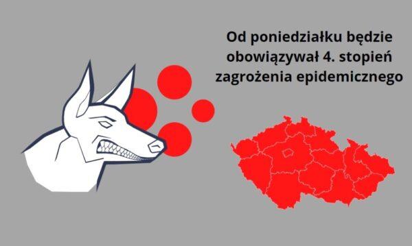 Od poniedziałku 4. stopień zagrożenia epidemicznego PES. Co to oznacza?