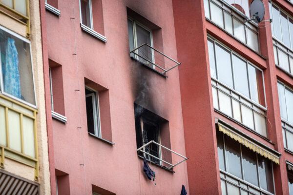 Kolejny pożar w Trzyńcu, uratowano 13 osób