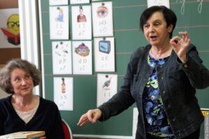 Uczniowie polskich szkół na Zaolziu spotkali się z Renatą Piątkowską