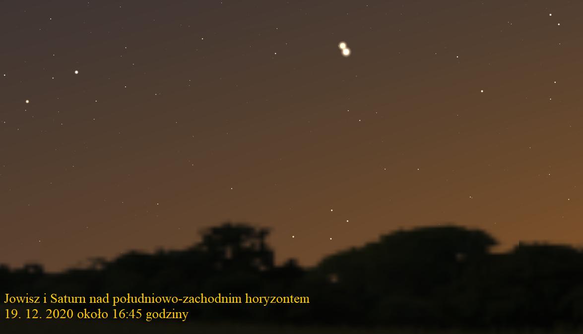 Wielka koniunkcja Jowisza i Saturna