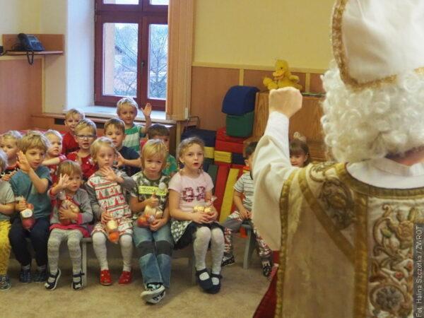 Dzieci w Milikowie były grzeczne. Odwiedził je Mikołaj