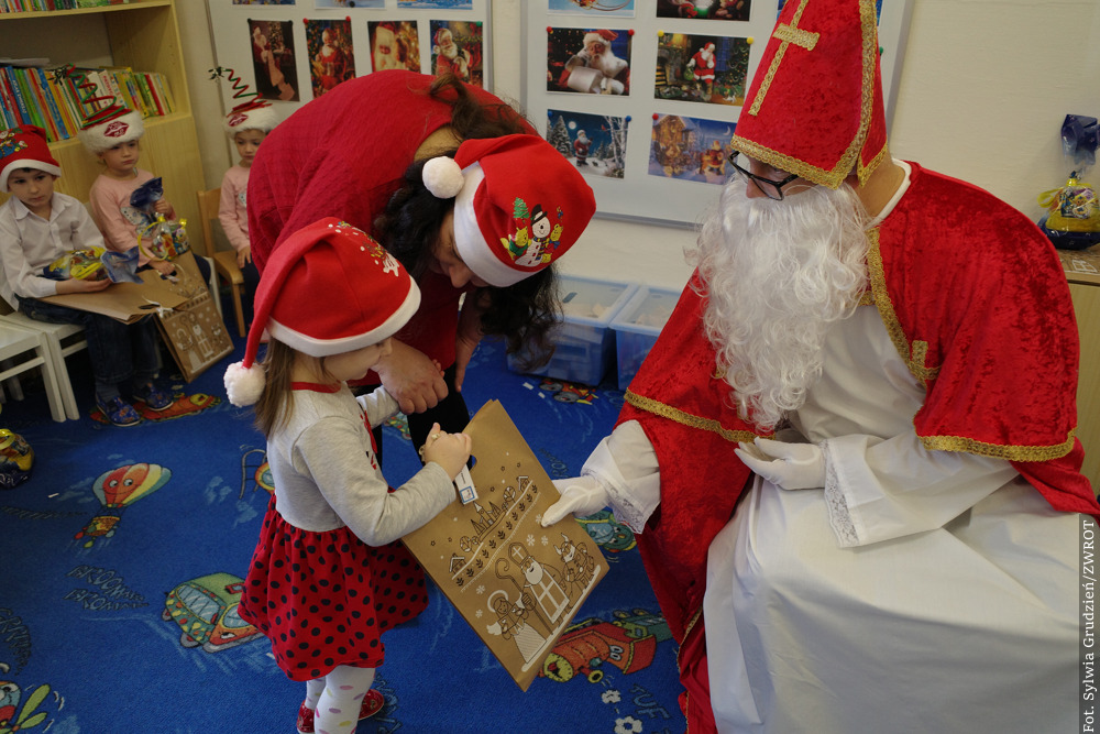 Mikołaj przyniósł prezenty przedszkolakom z Oldrzychowic