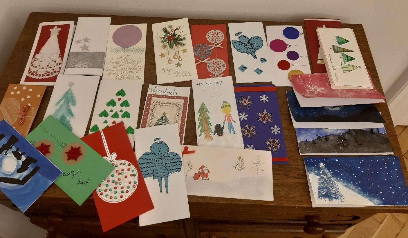 Wyróżniono najlepsze kartki świąteczne nadesłane przez uczniów polskich szkół