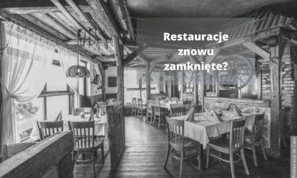 Od przyszłego tygodnia znowu zamknięte restauracje? Minister zdrowia wnioskuje o powrót do 4. strefy PES