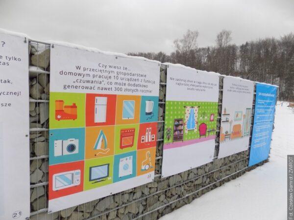 W Centrum Edukacji Ekologicznej można zwiedzić wystawę pod gołym niebem