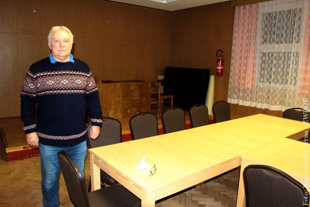 Czas pandemii członkowie PZKO wykorzystali na drobne remonty Domu PZKO w Orłowej Lutyni