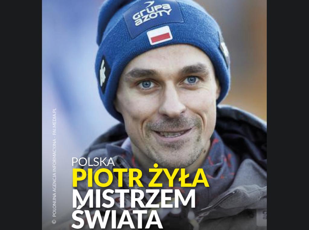 Piotr Żyła mistrzem świata!