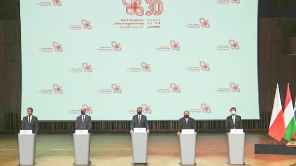 Premierzy państw Grupy Wyszehradzkiej spotkali się w Krakowie
