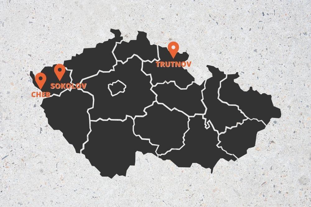 Czeski rząd zamknął trzy powiaty: chebski, sokolovski i trutnovski