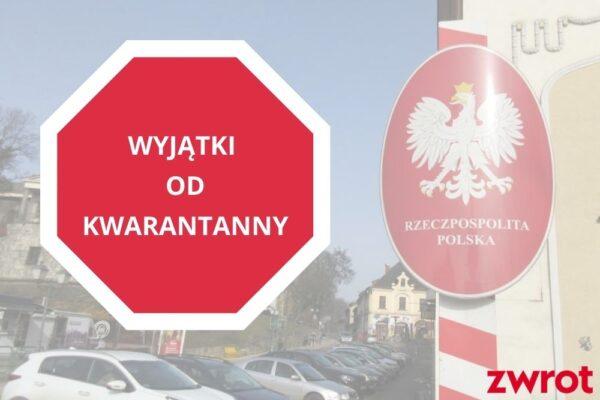 Jest Rozporządzenie Rady Ministrów. Wiadomo, kto może od jutra przekraczać granicę bez konieczności odbycia kwarantanny